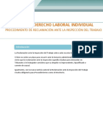 ProcedimientoDeReclamacion Insp. Del Trabajo