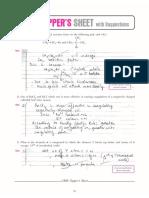 Cbse Cl12 Ead Chemistry Topper's Sheet