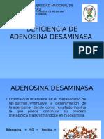 Deficiencia de Adenosina Desaminasa