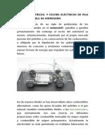 COCHES ELÉCTRICOS, Y COCHES ELÉCTRICOS DE PILA DE COMBUSTIBLE DE HIDRÓGENO..docx