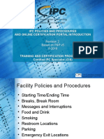 Ipc Policies and Procedures Cis General Module Rev 2 4-2016