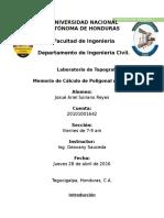 Memoria de Calculo de Poligonal Abierta.docx