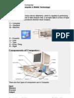 Fundamentals of Computer 5