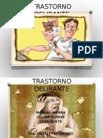 TRASTORNO DELIRANTE CRONICO
