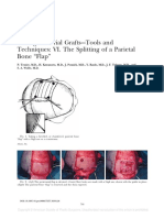 "Taking Calvarial Grafts–-Tools and Techniques- VI. the Splitting of a Parietal Bone ""Flap"""