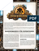 Iron Kingdoms - Freebie Erkundung