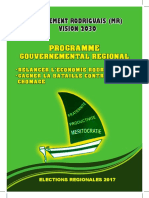 Programme Electoral MR 2017