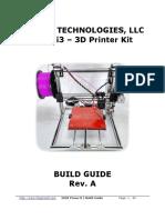 FolgerTech 2020 i3 Build Manual Rev A