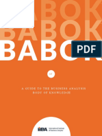BABOK 3 ONLINE - A Guide to the Business Analysis Body of Knowledge