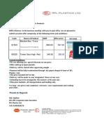 price offer formet for  Cargo-Box+Blanket Box+Organizer Box - 1