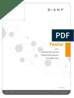 Biamp Manual Tesira Hd-1 Oct15-1