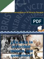 Evolución de La Minería en El Perú