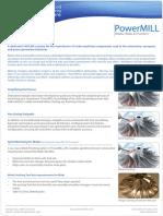 PowerMILL Blades Blisks Impellers