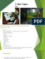 0813-2152-9993(Bpk Yogie), Herbal BioCypress Yogyakarta