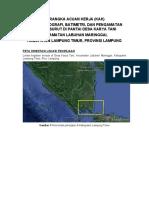 TOR Survei Topografi, Batimetri, & Pasut Karya Tani