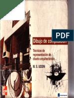 Dibujo de Composicion - Tecnicas de Representacion de Diseño Arquitectonico - ArquiLibros - AL