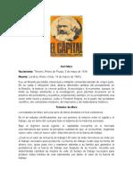 Karl Marx El Capital