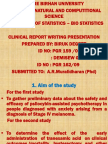 Clinical Report Writing Presentation