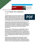 A Revolução Dos Auditores Laura Carvalho