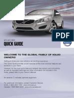 2011 Volvo S60 Quick Guide