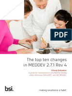 The Top Ten Changes in in MEDDEV 2.7.1 Rev 4_BSI