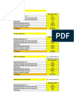 PSV Sizing Table
