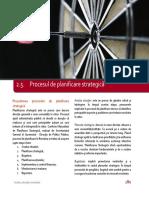 2.5. Procesul de Planificare Strategica