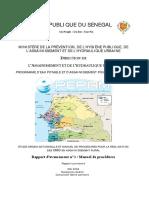 Manuel PEPAM Assain Rural Provisoire