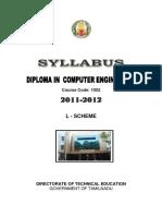 L-Scheme Syllabus CE - 1052