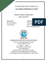Customer Satisfaction airtel