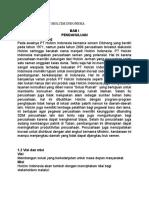 Analisis Pt Semen Holcim Indonesia