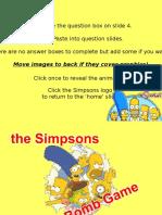 Ukulele Simpsons Game - Mini Plenary