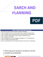 Research and Planning Poster