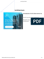 Learning Sap Architecture