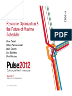 Scheduler Session PULSE 2012 Final-4