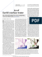 The dynamics of Earth's surface water
