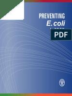 1 FAO Preventing-E.coli-InFood FCC 2011.06.23