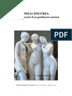 PHILÍA Epicúrea Fragmento 1 de Tesis 2