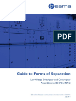 LV Switchgear Guide to Forms of Separation 2011