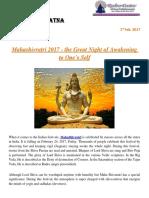 Maha Shivratri Puja & Abhishek Vidhi | Story of Mahashivaratri - Rudraksha Ratna