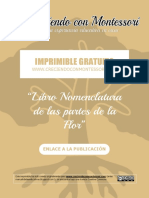 Mini Libro Partes de La Flor - CreciendoConMontessori