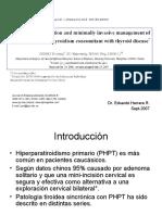 Paper Sept 2007. Endocrino Tiroides y PTH