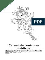 Carnet de Controles Médicos