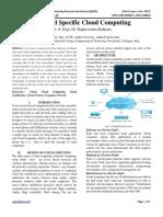 Keyword Specific Cloud Computing