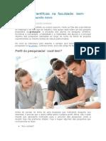 Matéria Jornalistica - Blog Unipe