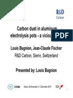 AL16 - Carbon Dust in Aluminum Electrolysis Pots - A Vicious Circle