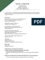 singleton-resume