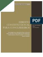 Direito Constitucional Para Concurseiros Atualizado