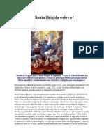 Visiones de Santa Brígida Sobre El Purgatorio