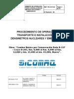Proced. de Almacenamiento, Manejo y Transporte DENSIMETRO